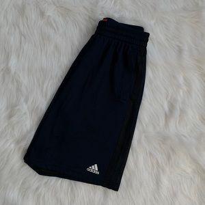 Navy Adidas Basketball Shorts